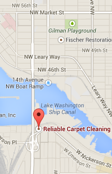 Reliable Carpet Cleaning Map